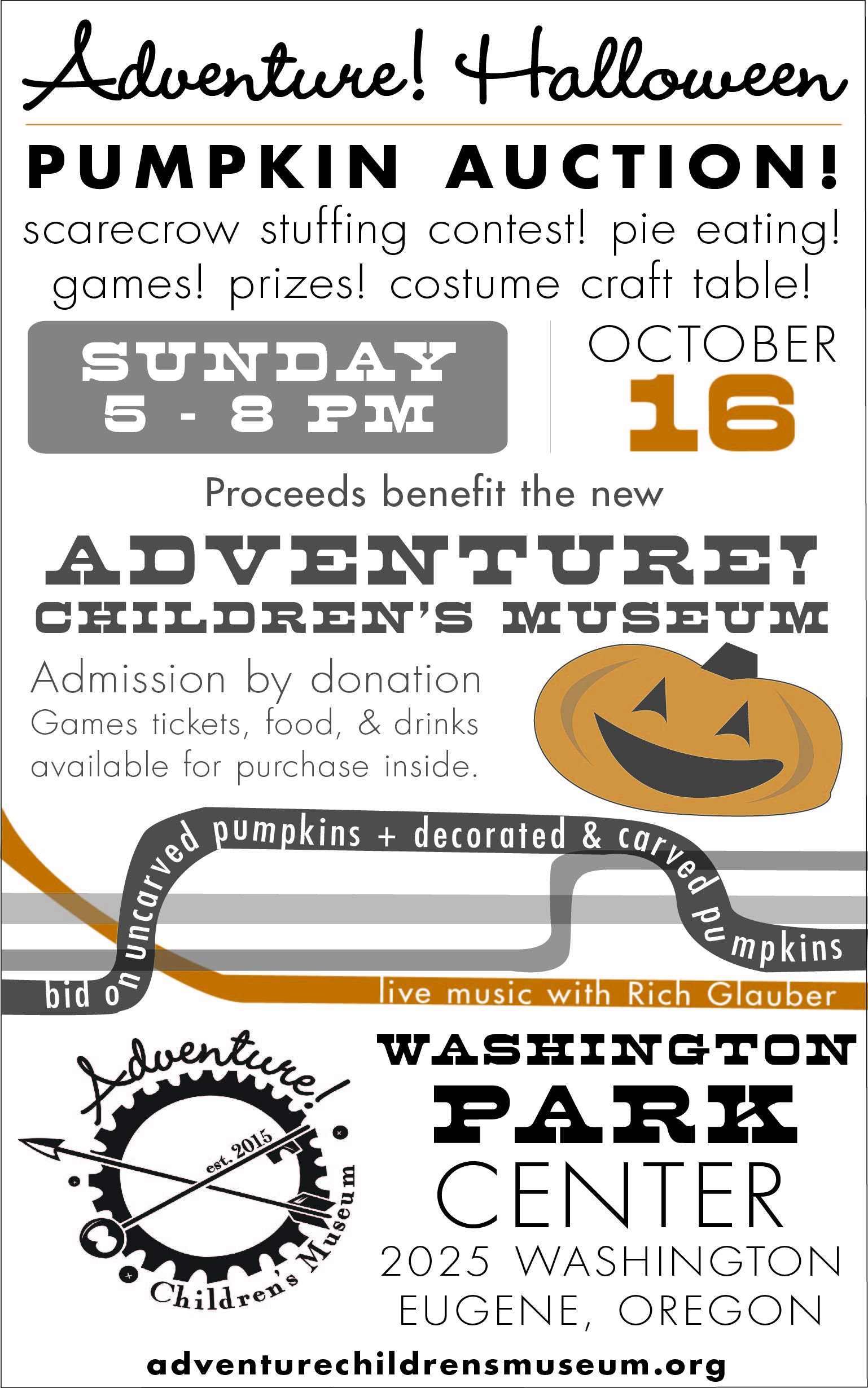 a fundraiser with an emphasis on fun bid on pumpkins in our live auction or silent auction inside the venue find carnival games crafts contests